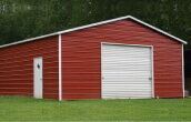 Boxed Eave Garages