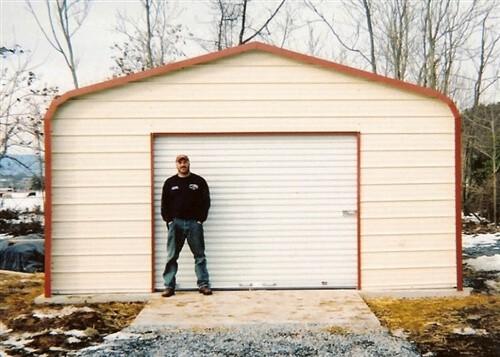 12x20 regular metal garage