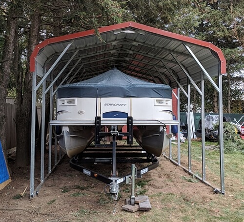 12x30 regular metal carport
