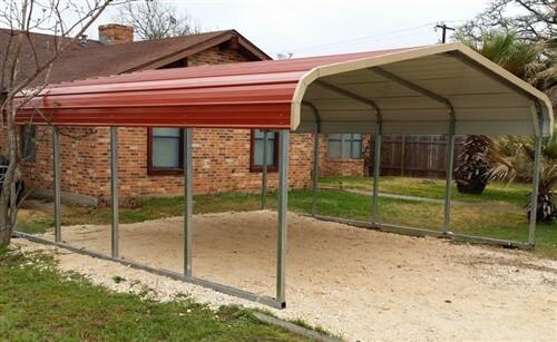 18x20 regular metal carport