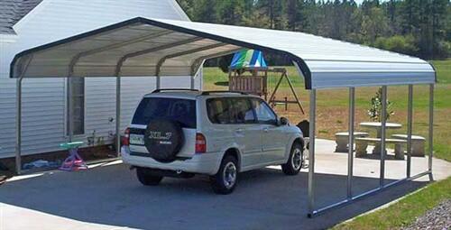 20x20 metal carport colors