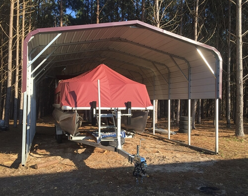 20x25 regular metal carport