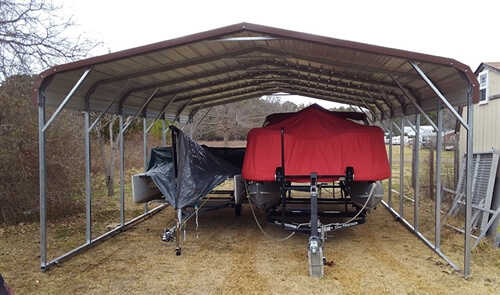 20x30 regular metal carport