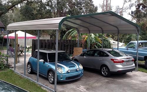 22x20 metal carport