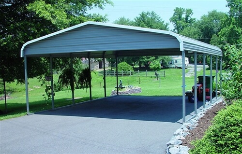 22x25 regular metal carport
