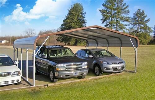 24x20 regular metal carport