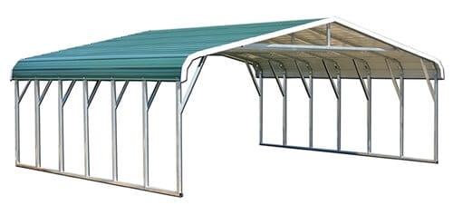 28x25 regular metal carport