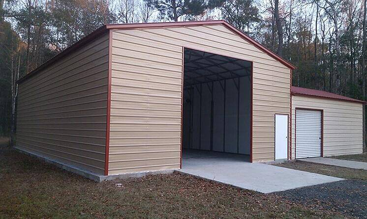 Buy A Custom 30x30 Garage At A Great Price Free Delivery And Setup Of Every 30x30 Metal Building