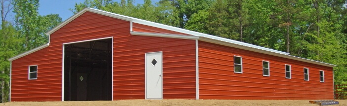 lean to buildings ms lean to barns mississippi