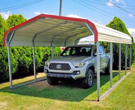 Sturdy Metal Carports Near Me At Great Prices Free Delivery Find A Custom Carport Kit Or Prefab Steel Carports For Sale