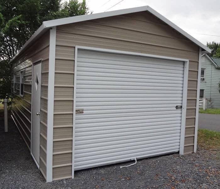 metal garages arkansas steel garage ar
