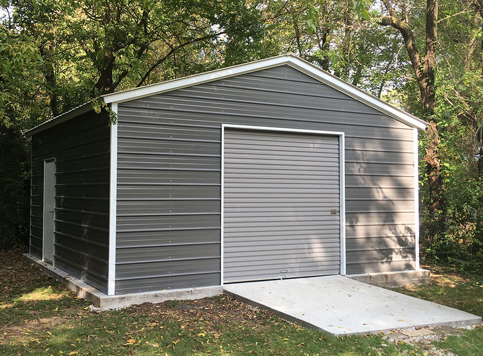 organize your metal garage