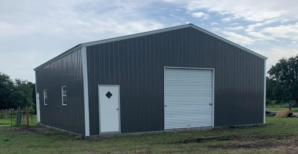commercial steel building garages