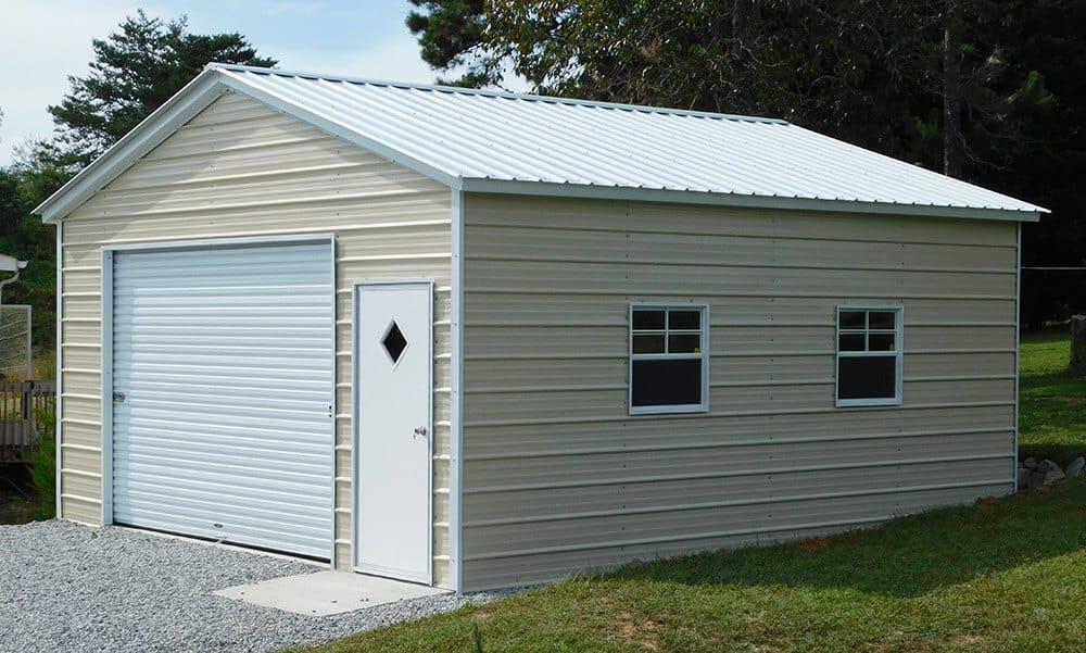 steel buildings-1-car-garage