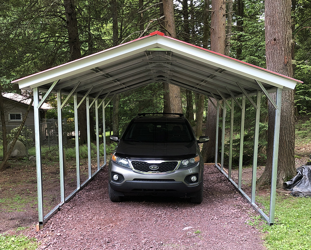 vertical carports for sale
